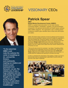 Patrick Spear — Visionary CEO's