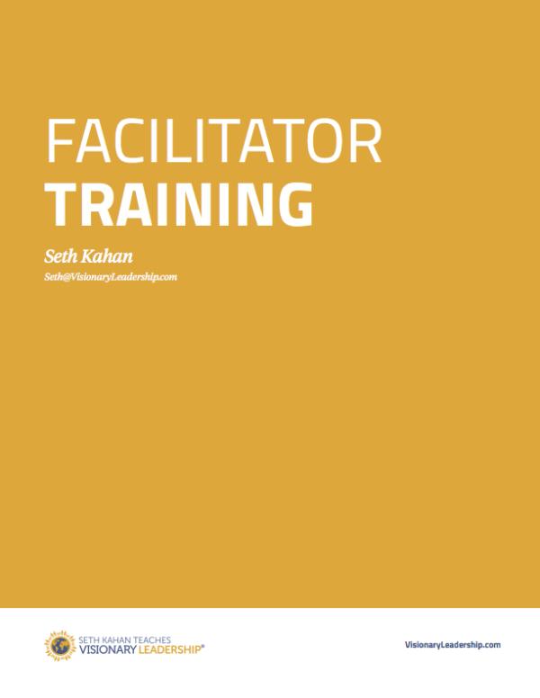 Seth Kahan - facilitator training